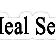 I Heal Seals  Sticker