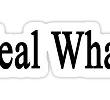 I Heal Whales  Sticker