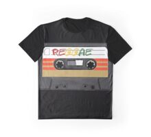 Rasta Reggae Music Graphic T-Shirt