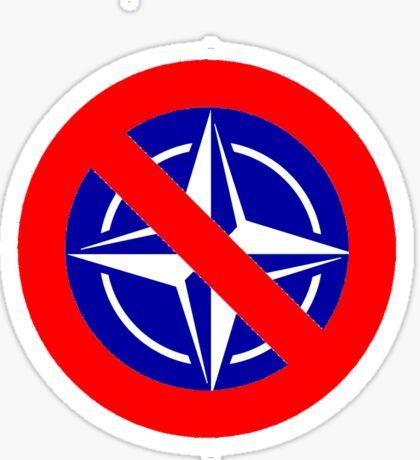 Anti NATO Sticker
