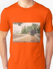 Rainy On Bow Bridge T-Shirt