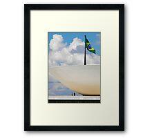 Brasília Framed Print