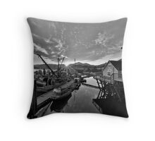 Sunrise in Cow Bay Throw Pillow