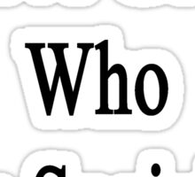I Love Geeks Who Love Sociology  Sticker