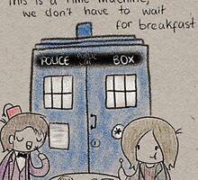 Doctor Who Breakfast by CharlieeJ