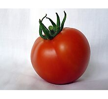 Vine ripened tomato Photographic Print