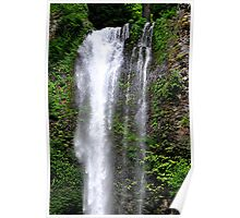 """Waterfall Greenery"" Poster"