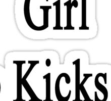 I'm That Cute Girl Who Kicks Ass At Hiking Sticker