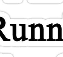I'm A Running Coach  Sticker