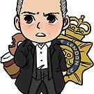 Cute Lestrade by reapersun