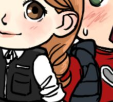 Cute Amy and Rory Sticker