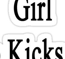 I'm That Cute Girl Who Kicks Ass At Tennis  Sticker