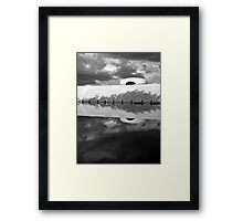 Memorial JK  Framed Print