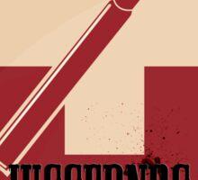 Juggernog logo; Bring it on, Ankle-biters! Sticker
