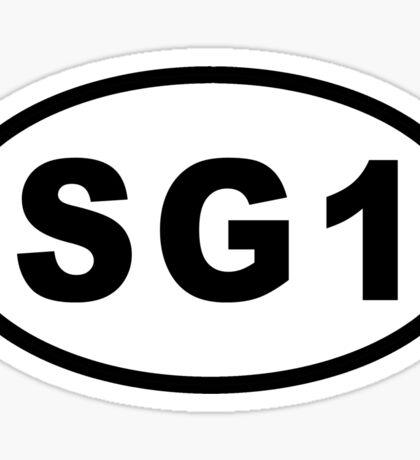 Euro Sticker - SG1 Sticker