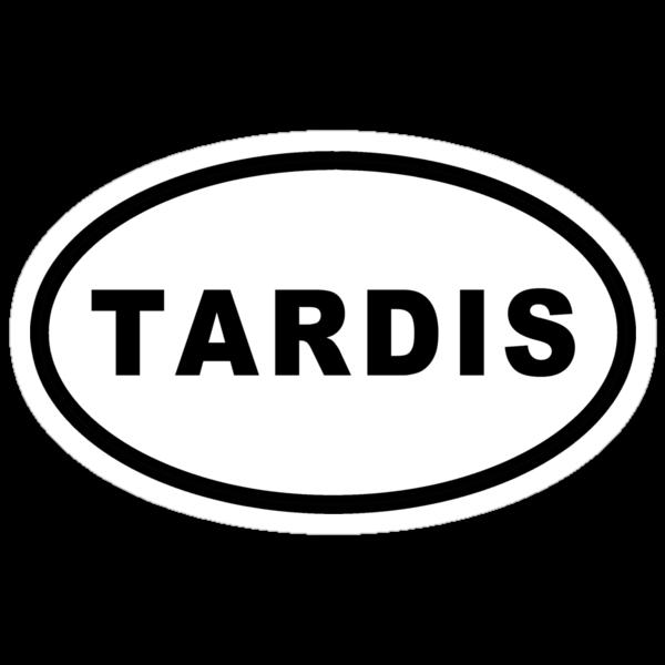 TARDIS Euro Sticker by Earth2Kim