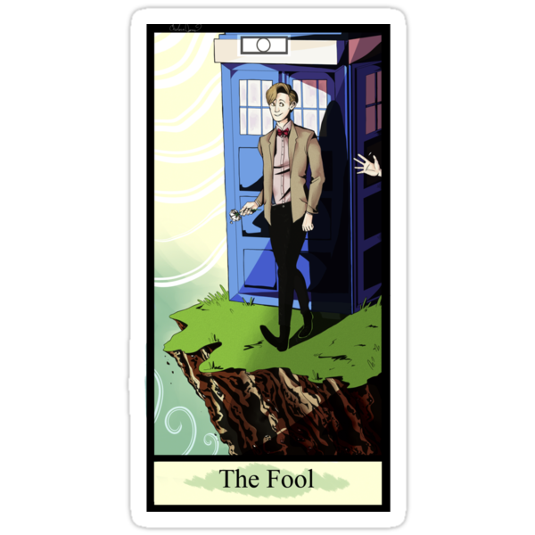 Eleventh Doctor- The Fool by Chelsea Jones