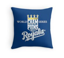 royals champions Throw Pillow