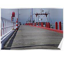 Port Welshpool pier Poster
