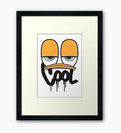 Mr. COOL Framed Print