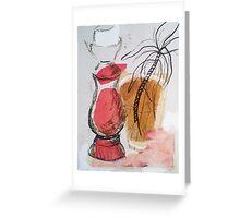 Still Life & Red #2 Greeting Card