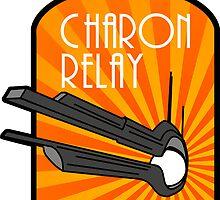 Charon Relay Luggage Sticker by universalfreak