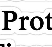 Learn To Protect Tigers Sticker