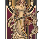 Shieldmaiden of Rohan STICKER by Christadaelia