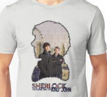 Sherlock and John: tagteam Unisex T-Shirt
