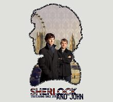 Sherlock and John: tagteam Unisex T-Shirt