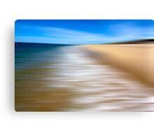 Zen Beach III / Peaked Hill Bars Canvas Print