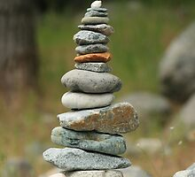 Stacked rocks by Aggiegirl