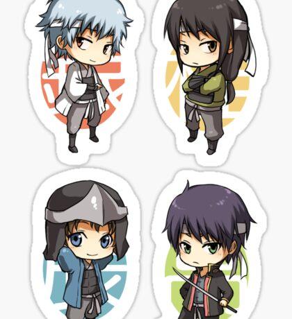 Gintama - mini joui set Sticker