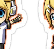 Vocaloid - Kagamine Rin/Len set Sticker