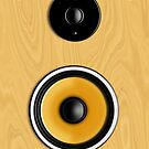 Maple Loudspeaker No Screen by Ra12