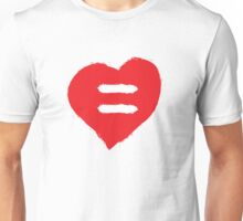Equality Heart Unisex T-Shirt