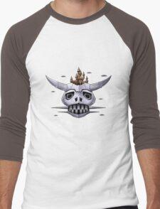 Boazanian Mother Ship Men's Baseball ¾ T-Shirt