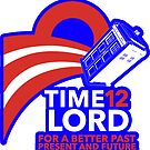 Time Lord '12 (Sticker) by num421337