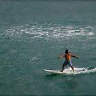 Kid Surfer by Meni