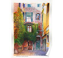 Venetian Apartments Poster