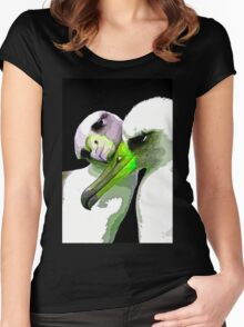 Birds of A Feather Love Together Women's Fitted Scoop T-Shirt