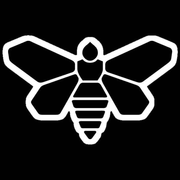 Methylamine Bee (Black) by CongressTart