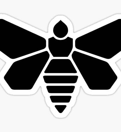 Methylamine Bee (Black) Sticker