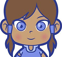 Chibi Korra by DisfiguredStick