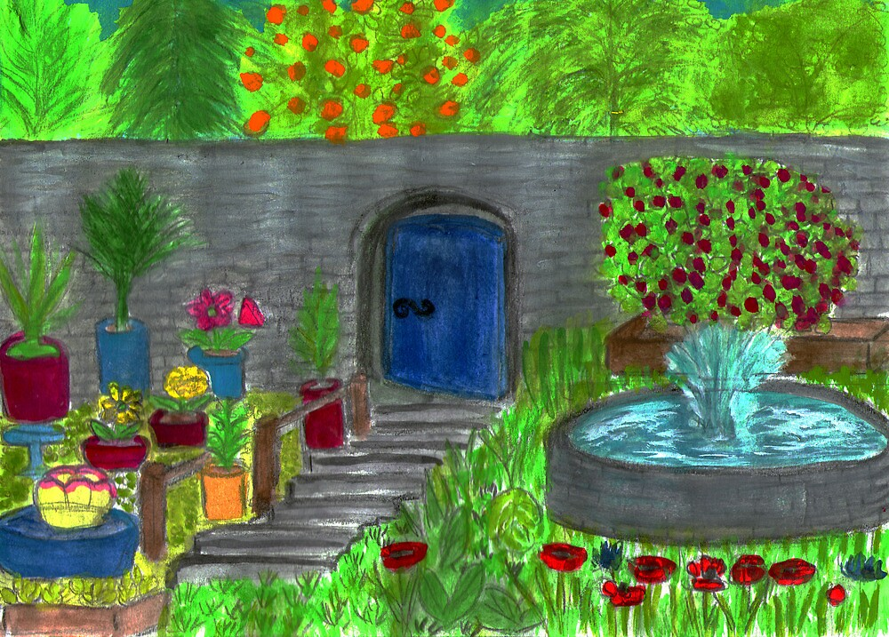 The walled garden by Hbeth