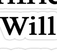 My Girlfriend Will Become A Writer  Sticker