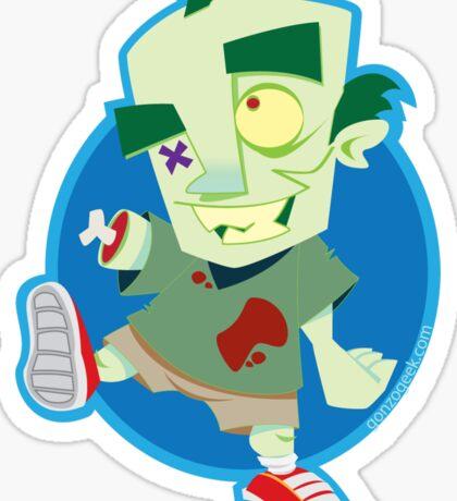 Zombie Fit Club Sticker