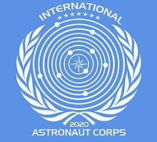 International Astronaut Corps by Bob Bello