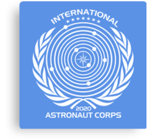 International Astronaut Corps Canvas Print