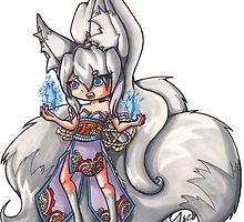 Kitsune's Fox Fire by AngelaZA